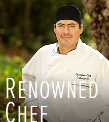 Renouned Chef at Millcreek Inn