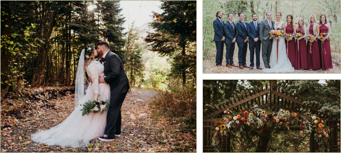 Fall Wedding Venue in Salt Lake City, UT